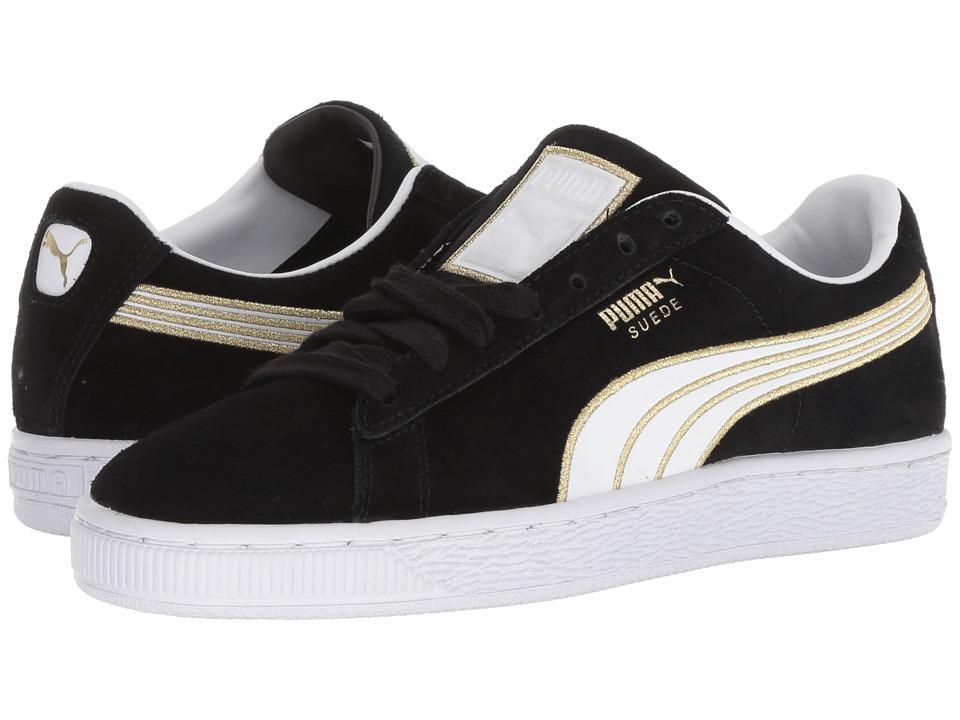 PUMA Suede Varsity (Puma Black/Puma White) Women's Shoes