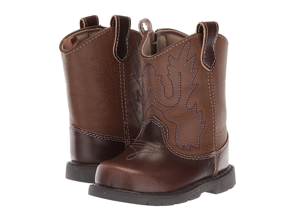 Baby Deer - First Steps Western Boot (Infant) (Brown) Cowboy Boots
