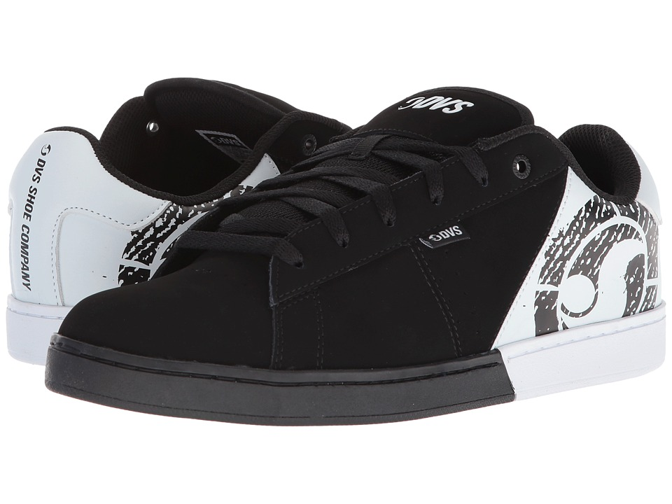 DVS Shoe Company - Revival Split (Black/White) Mens Skate Shoes