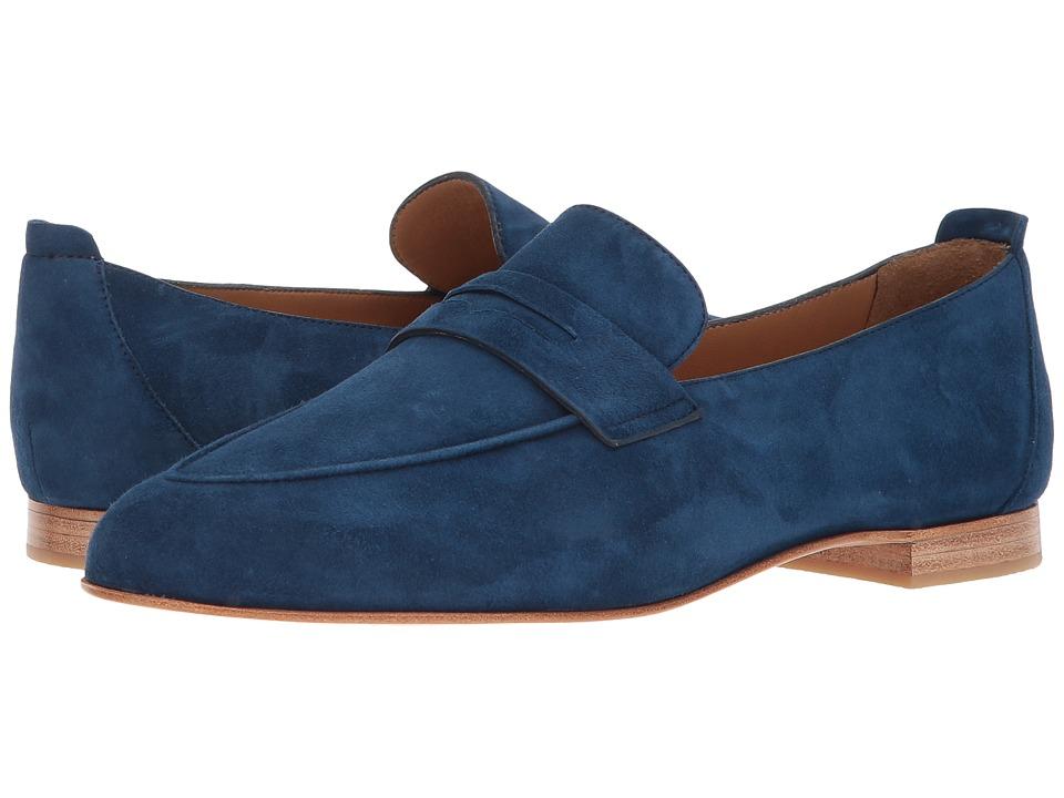 Lucchese Fausta (Azul) Flats
