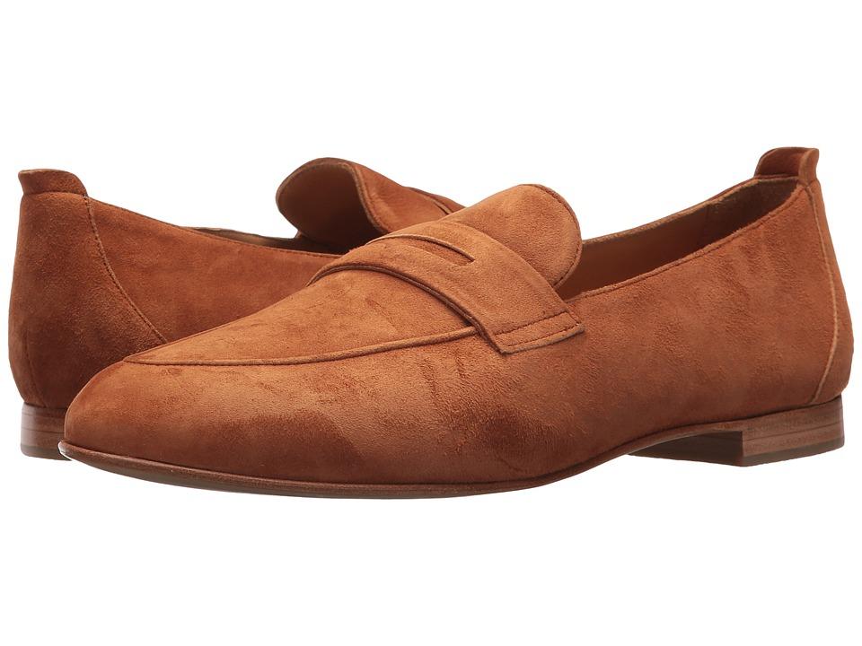 Lucchese Fausta (Brandy) Women's Flat Shoes