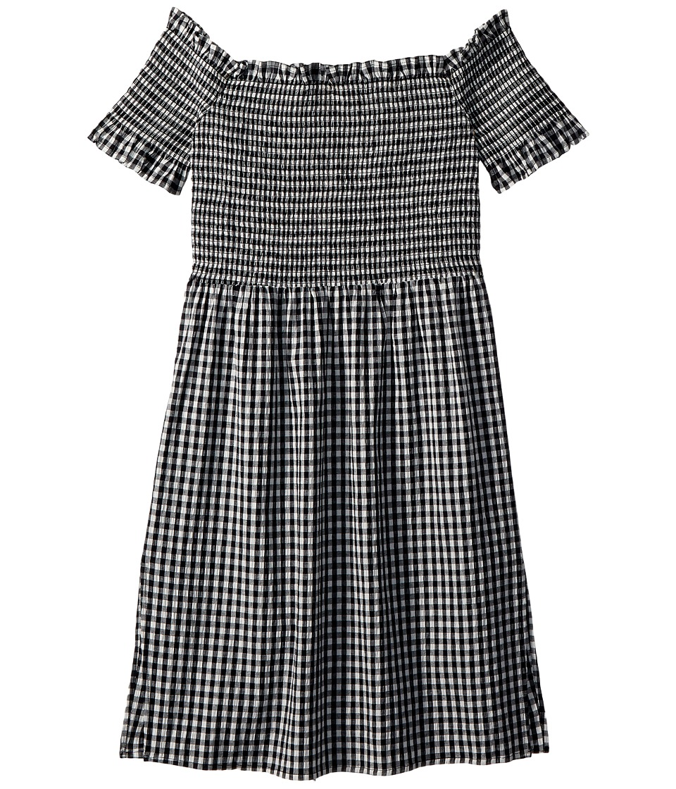 Bardot Junior - Cindy Dress (Big Kids) (Black Gingham) Girls Dress