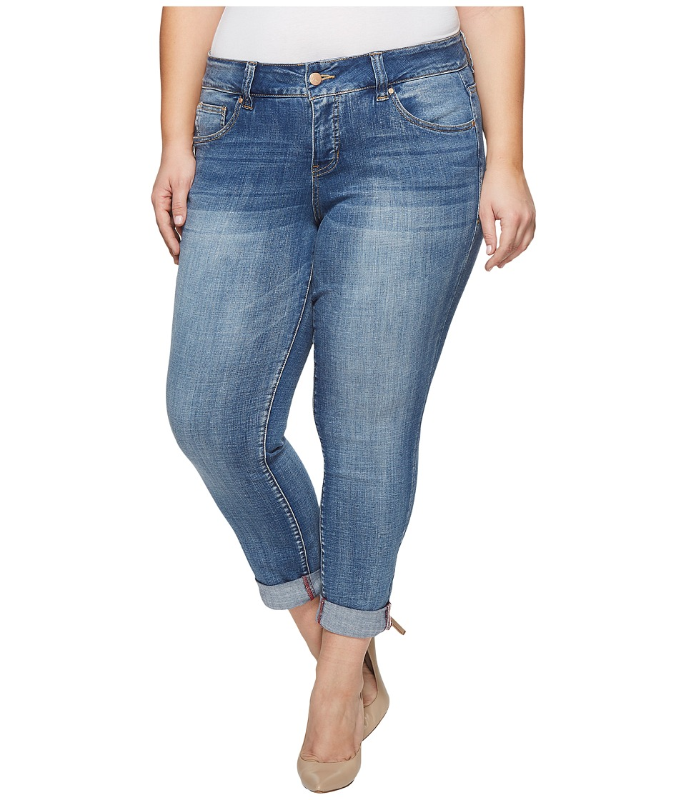Jag Jeans Plus Size - Plus Size Carter Girlfriend Jeans (Mid Vintage) Womens Jeans