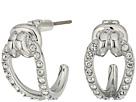 Swarovski Small Lifelong Hoop Pierced Earrings