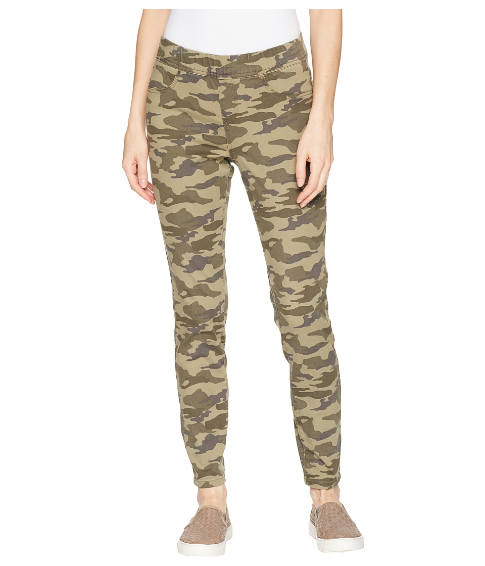 Jag Jeans - Marla Denim Camo Leggings (Drab Green Camo) Womens Jeans