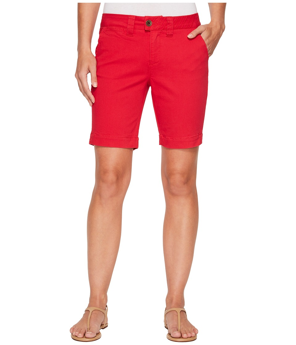 Jag Jeans - Creston Shorts in Bay Twill (Tango Red) Womens Shorts