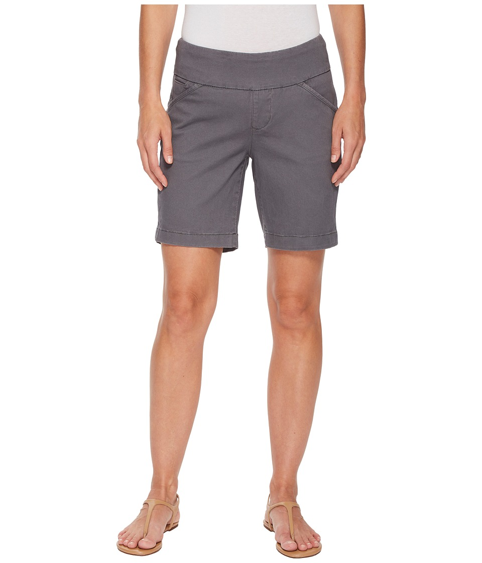 Jag Jeans - Ainsley Pull-On 8 Shorts in Bay Twill (Grey Streak) Womens Shorts