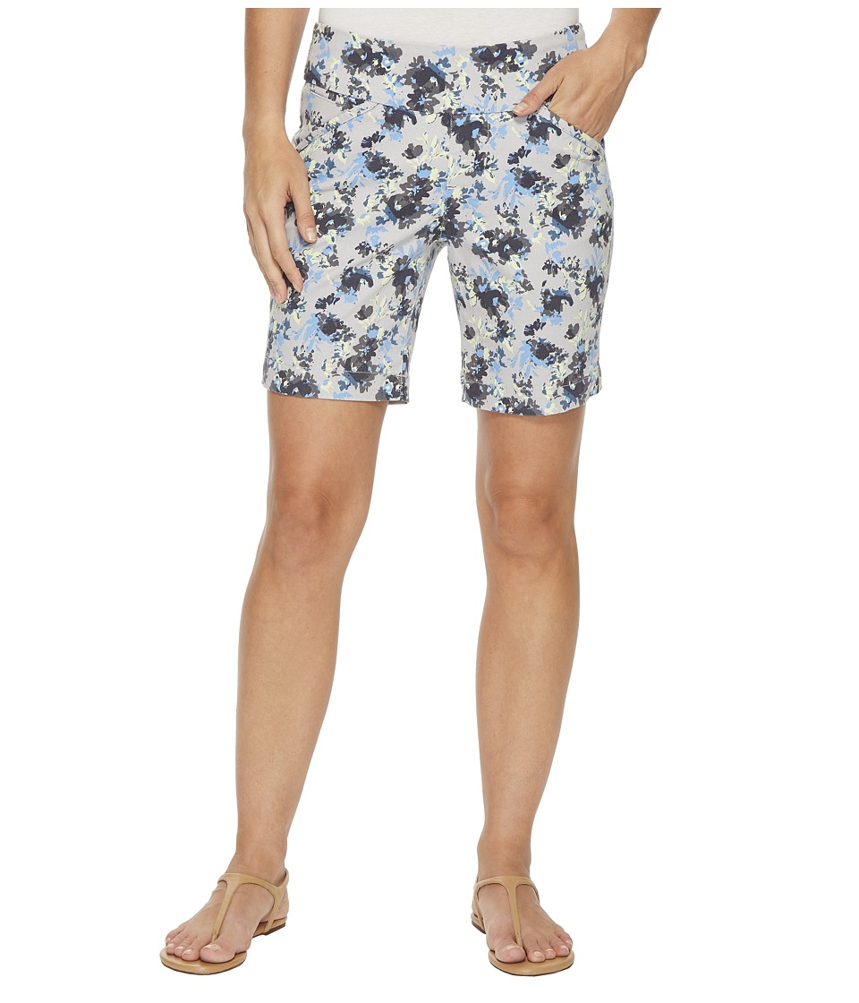 Jag Jeans - Ainsley Pull-On 8 Floral Print Twill Shorts (Nautical Navy) Womens Shorts