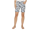 Jag Jeans Ainsley Pull-On 8 Floral Print Twill Shorts