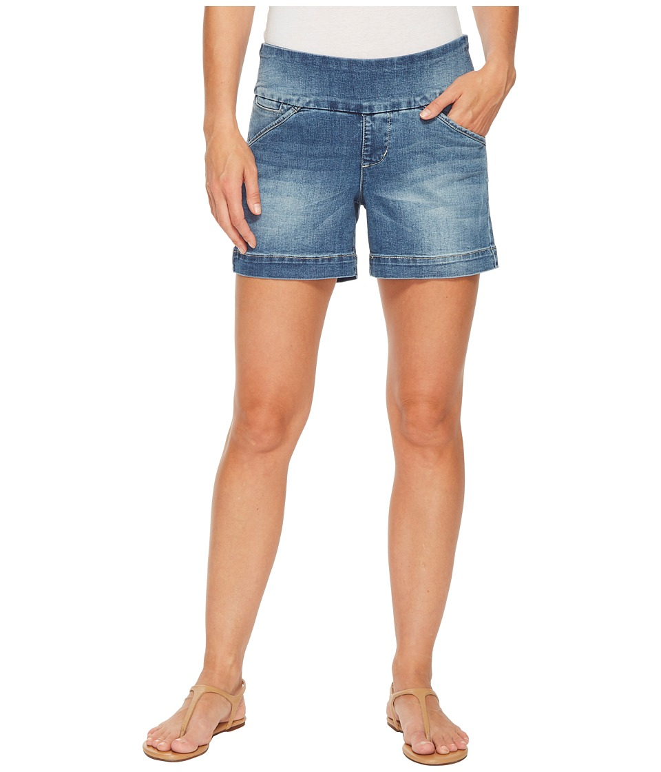 Jag Jeans - Ainsley Pull-On 5 Denim Shorts in Horizon Blue (Horizon Blue) Womens Shorts