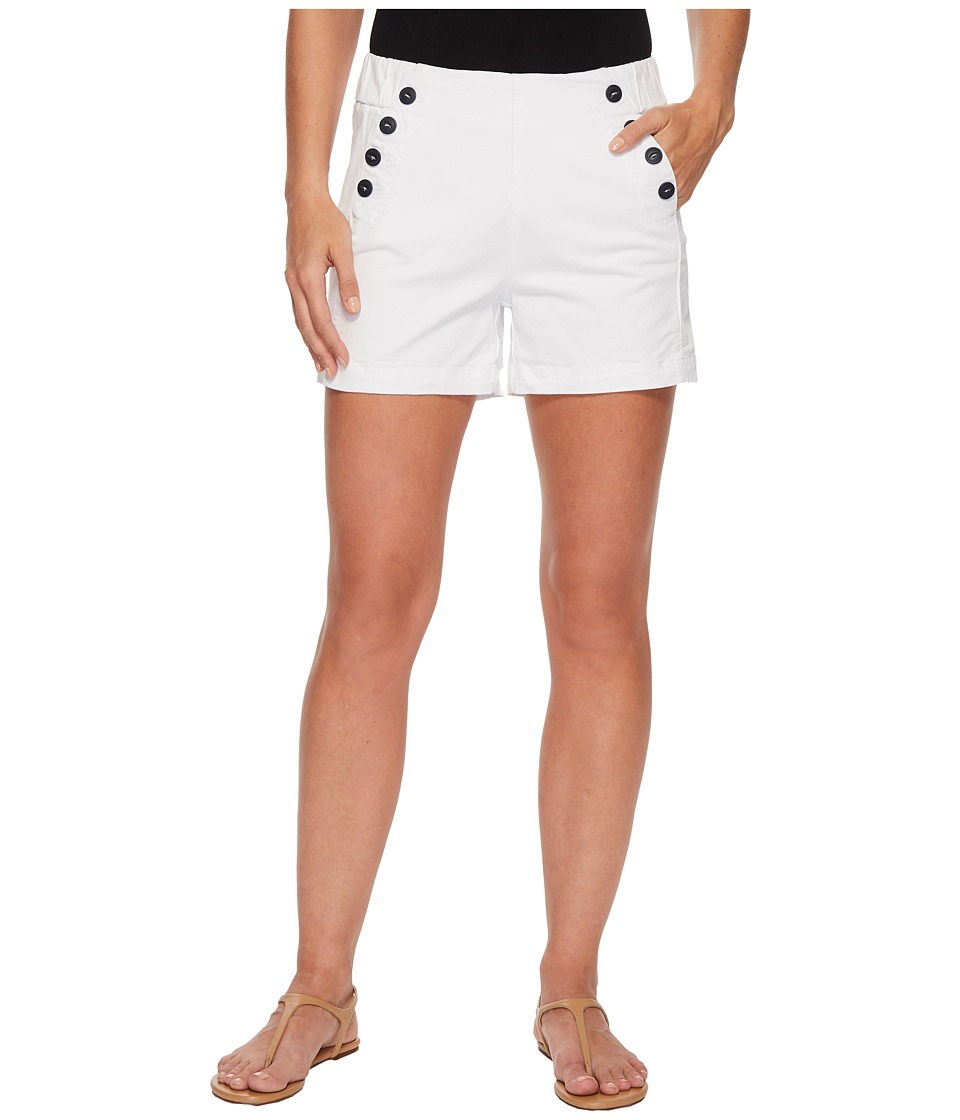 Jag Jeans - Sailor Twill Shorts in White (White) Womens Shorts