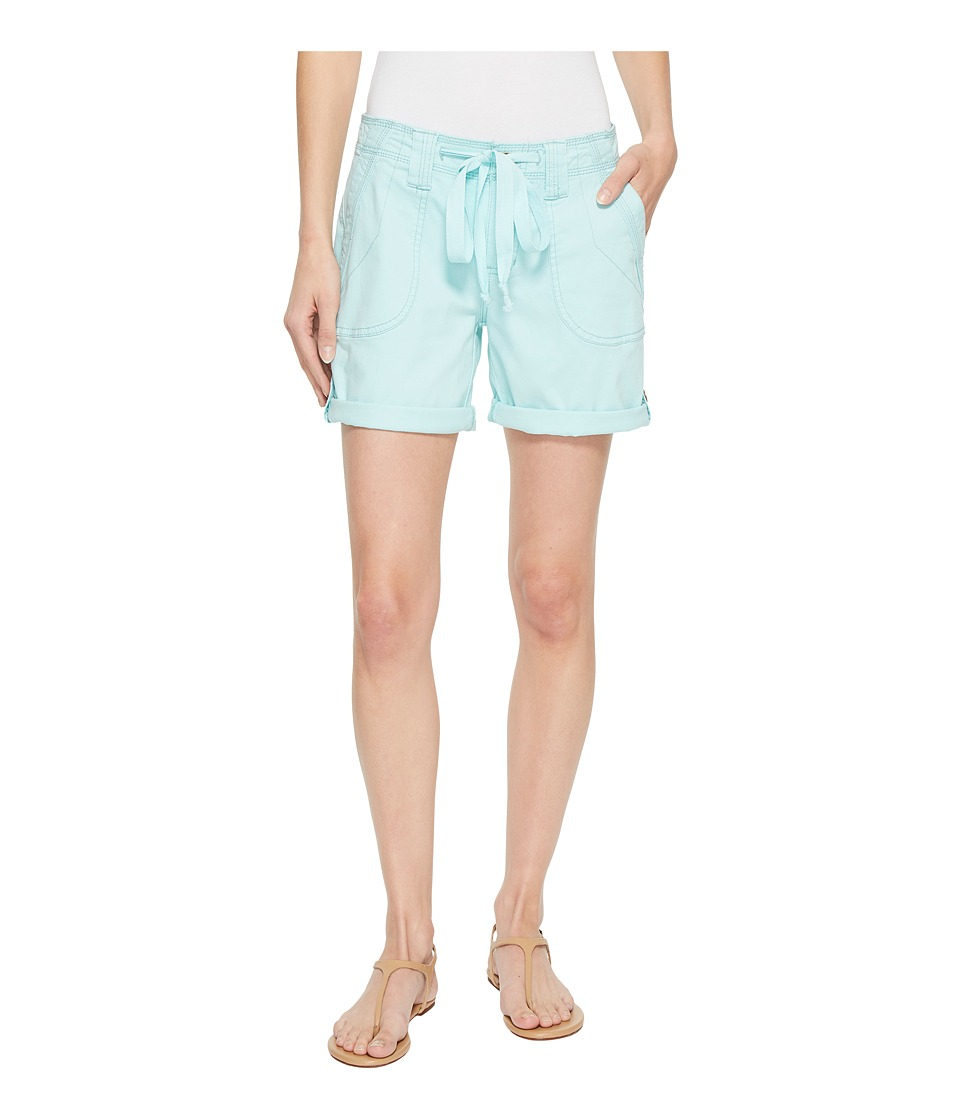 Jag Jeans - Adeline Twill Shorts (Aquatic) Womens Shorts