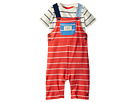 Joules Kids Jersey Overall T-Shirt Set (Infant)