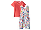 Joules Kids Printed Overall and T-Shirt Set (Infant)