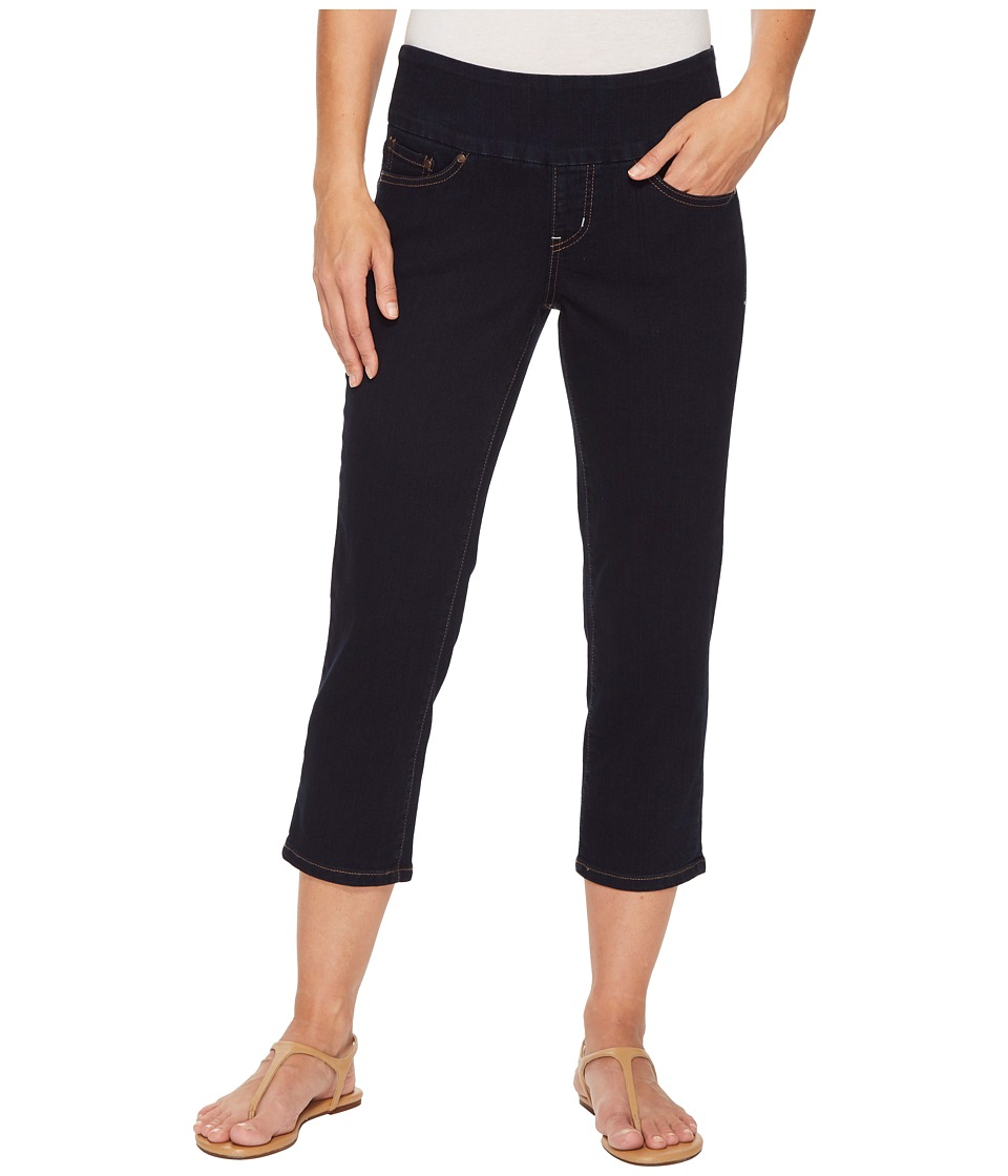 Jag Jeans - Peri Straight Pull-On Denim Crop in After Midnight (After Midnight) Womens Jeans
