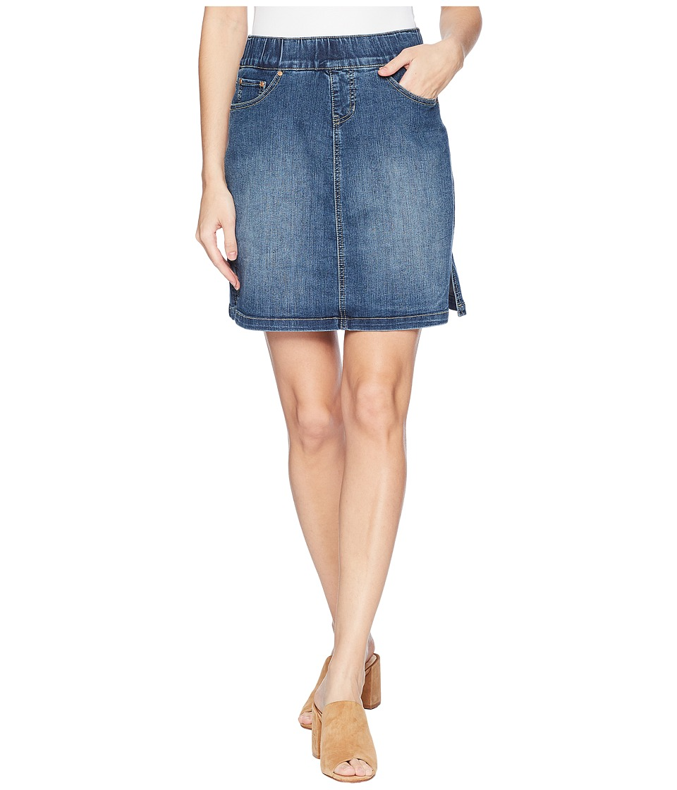 Jag Jeans - On The Go Denim Skort in Blue Dive (Blue Dive) Womens Skort