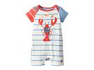 Joules Kids Applique Knit Romper (Infant)