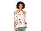 Miss Me Miss Me Open Sleeve Floral Top