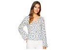Miss Me Miss Me V-Neck Bell Sleeve Top
