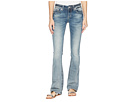 Miss Me Miss Me Cross Wing Embellished Bootcut Jeans in Medium Blue