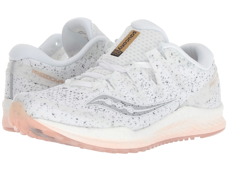 Saucony Freedom ISO2 (White) Women's Running Shoes