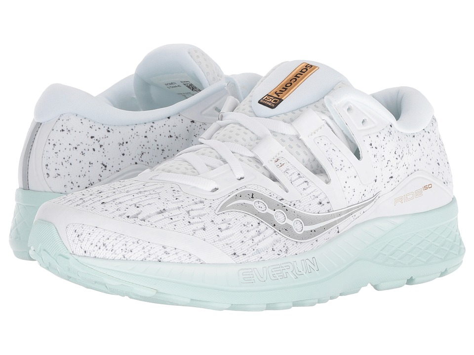 Saucony Ride ISO (White) Women's Running Shoes