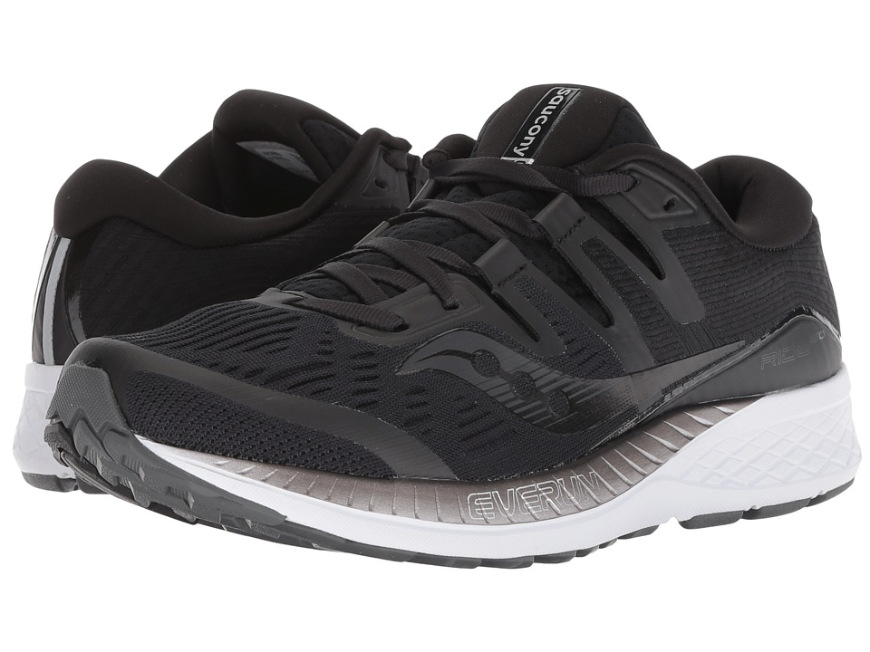 Saucony Ride ISO (Black) Women's Running Shoes