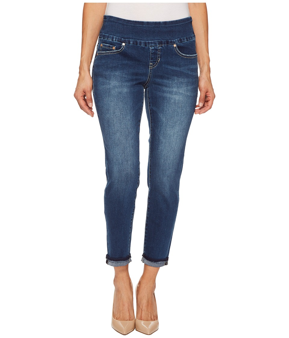 Jag Jeans Petite - Petite Amelia Slim Ankle Pull-On Denim Jeans in Kodiak Blue (Kodiak Blue) Womens Jeans
