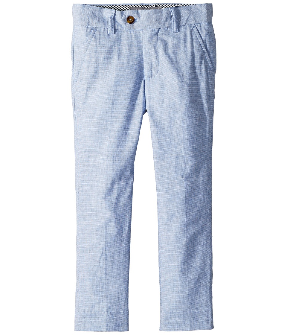 Appaman Kids - Suit Pants (Toddler/Little Kids/Big Kids) (Sky Slub) Boys Casual Pants