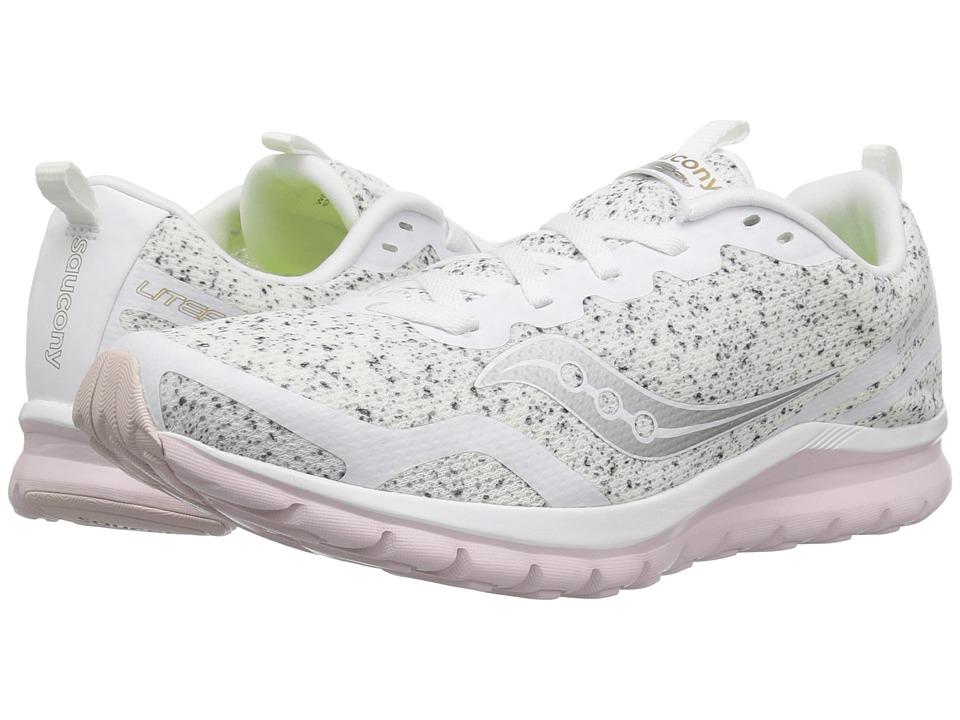 Saucony Liteform Feel (White) Women's Running Shoes