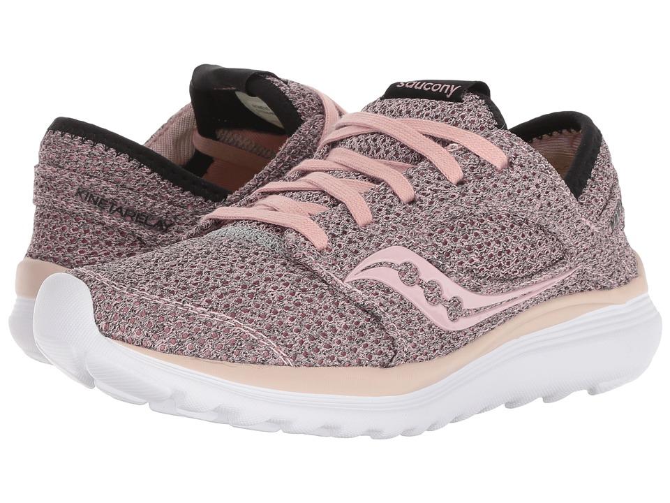 Saucony Kineta Relay (Pink/Black) Women's Running Shoes