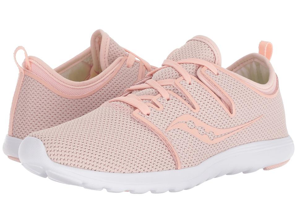 Saucony Eros Lace (Pink) Women's Shoes