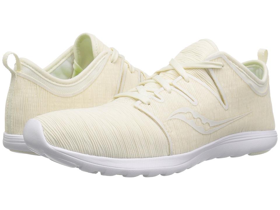 Saucony Eros Lace (Off-White) Women's Shoes