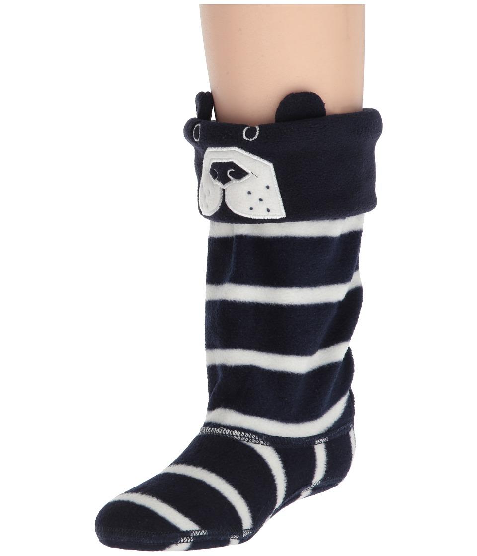 Joules Kids - Smile Fleece Welly Sock (Toddler/Little Kid/Big Kid) (Bear) Boys Shoes