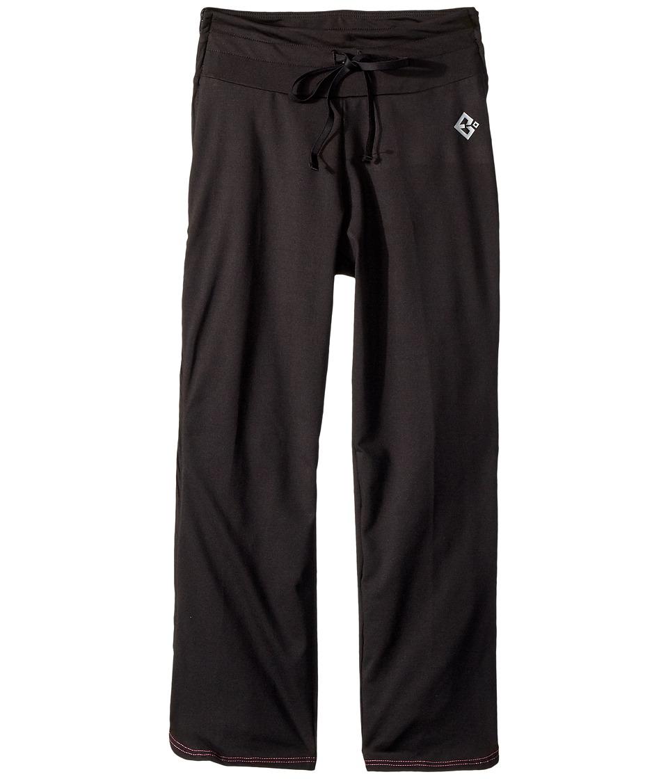 Reboundwear - Melissa Pants (Little Kids/Big Kids) (Black) Womens Casual Pants