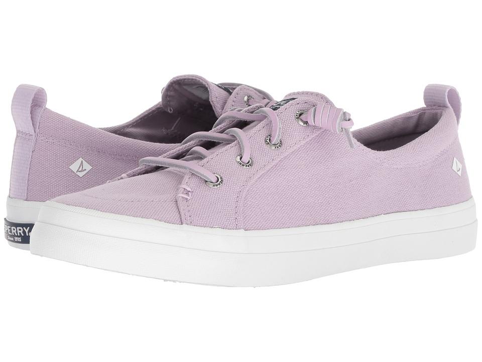 Sperry Crest Vibe Linen Seasonal (Light Purple)