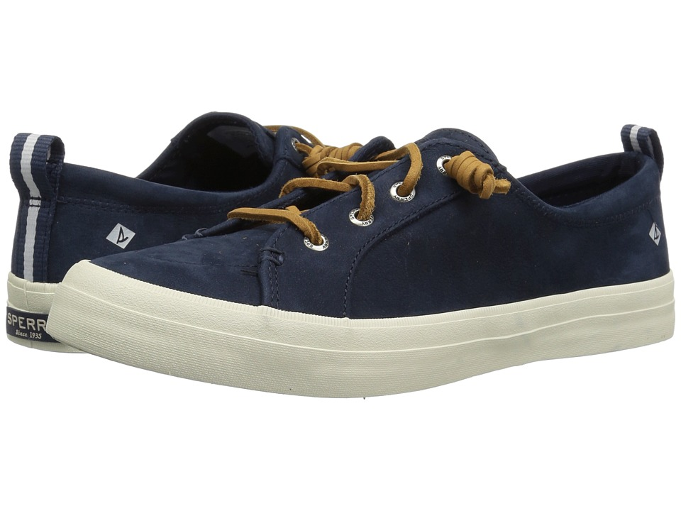 Sperry Crest Vibe Washable Leather (Navy)