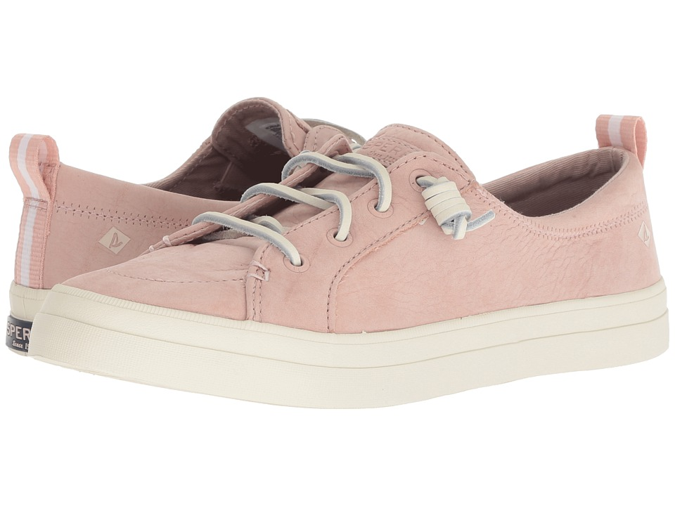 Sperry Crest Vibe Washable Leather (Rose Dust)