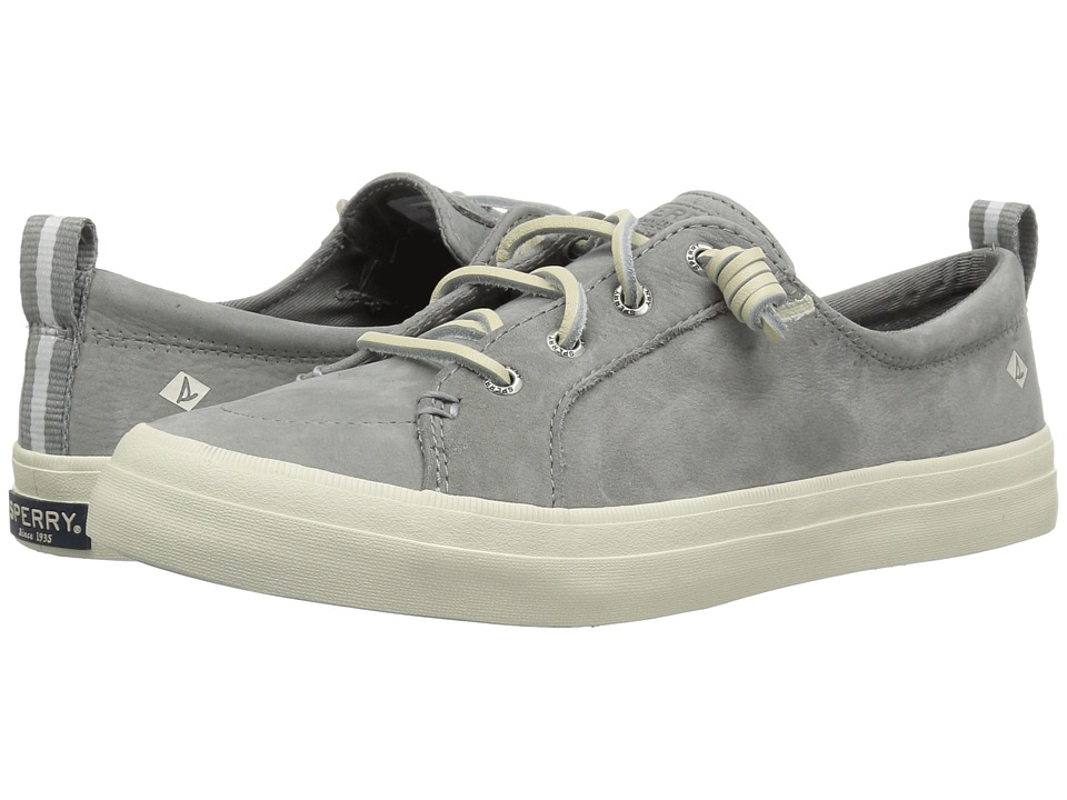 Sperry Crest Vibe Washable Leather (Grey)