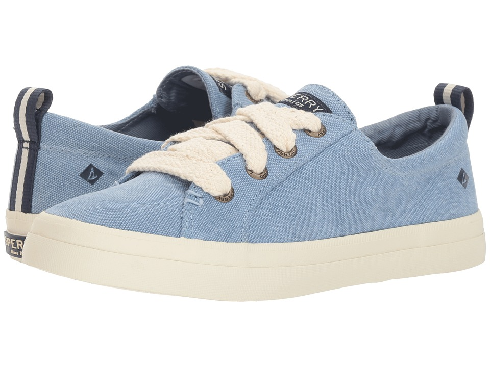 Sperry Crest Vibe Chubby Lace (Dusty Blue)