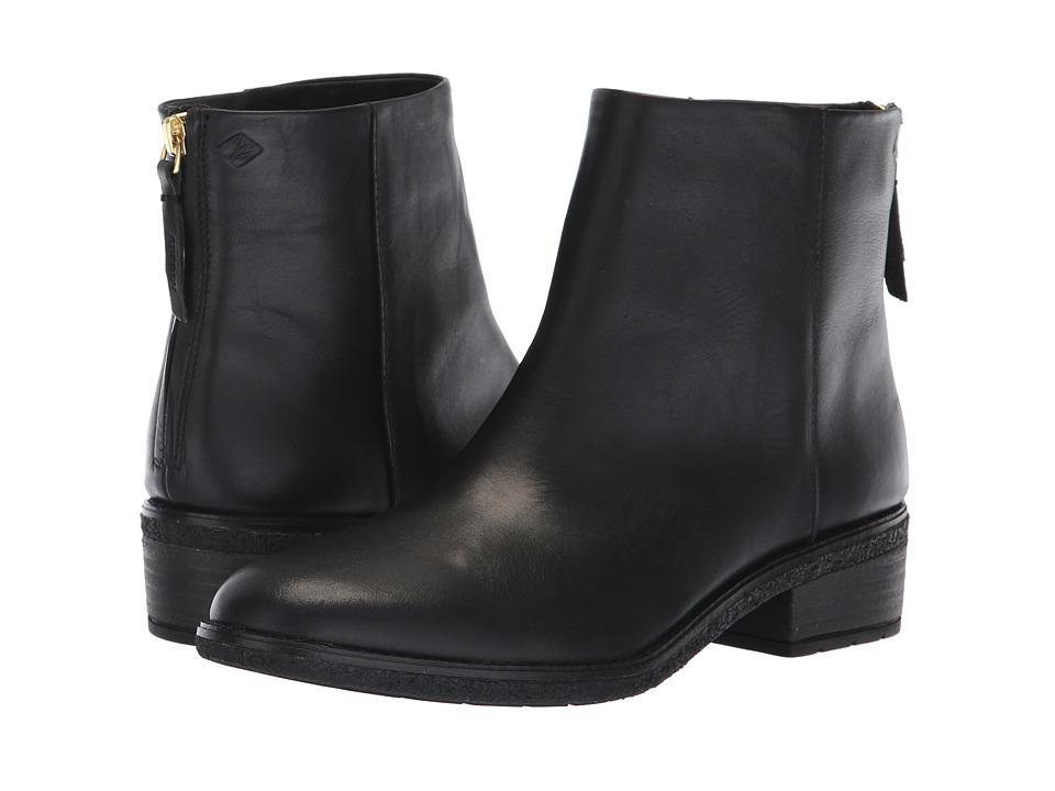 Sperry Maya Belle (Black Leather)