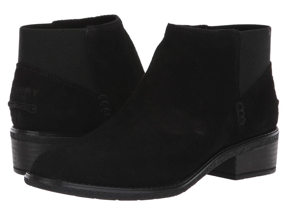 Sperry Maya Lani (Black Suede) Women's  Boots