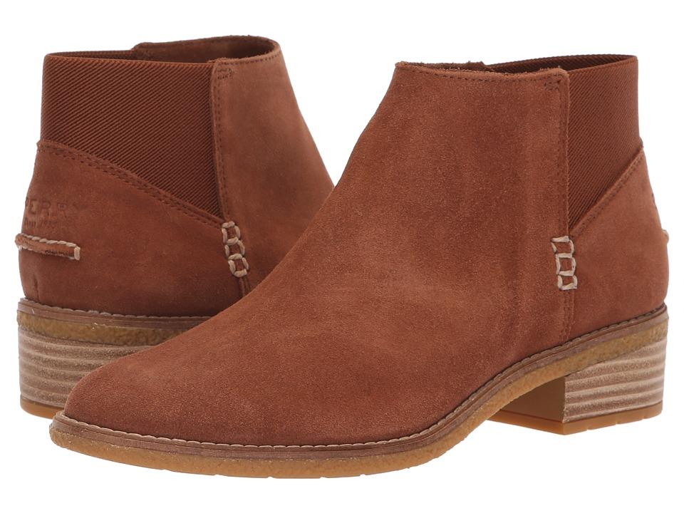 Sperry Maya Lani (Tan Suede) Women's  Boots