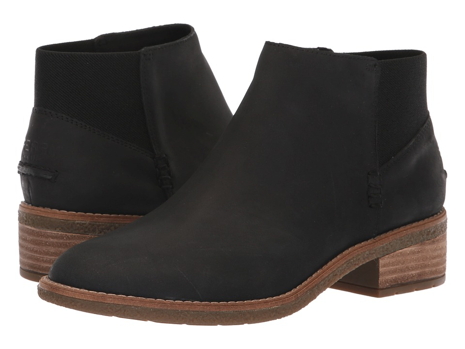 Sperry Maya Lani (Black Leather) Women's  Boots