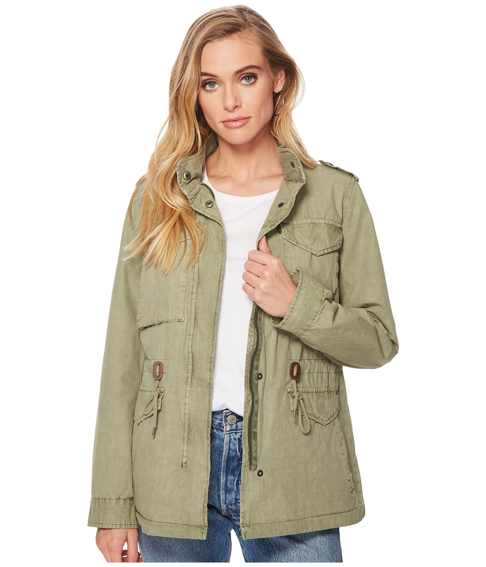 Levis(r) - Four-Pocket Utility Jacket (Light Green) Womens Coat