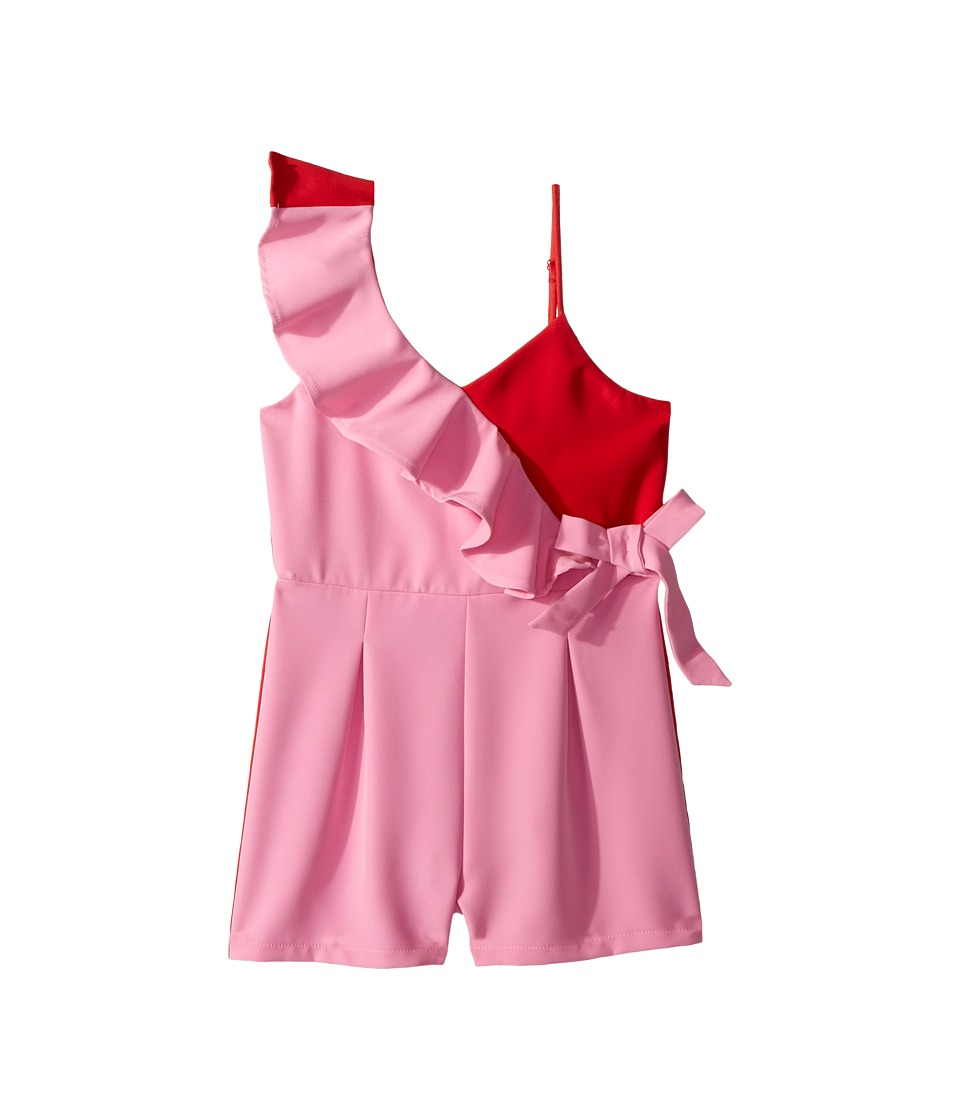 Bardot Junior - Sherbet Bomb Romper (Big Kids) (Marsh Pink) Girls Jumpsuit & Rompers One Piece