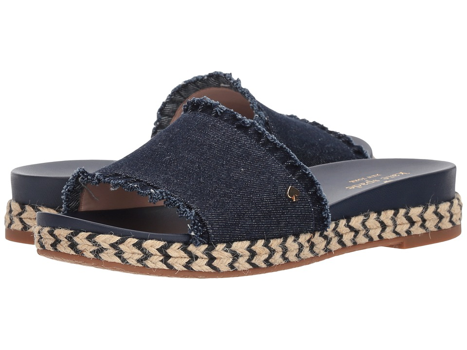 Kate Spade New York Zahara (Indigo Denim) Women's Shoes