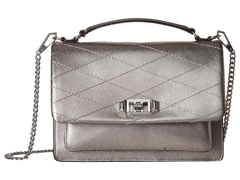 Rebecca Minkoff - Je Taime Medium Crossbody (Platinum) Cross Body Handbags