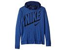 Nike Kids Breathe Long Sleeve Hooded Training Top (Big Kids)