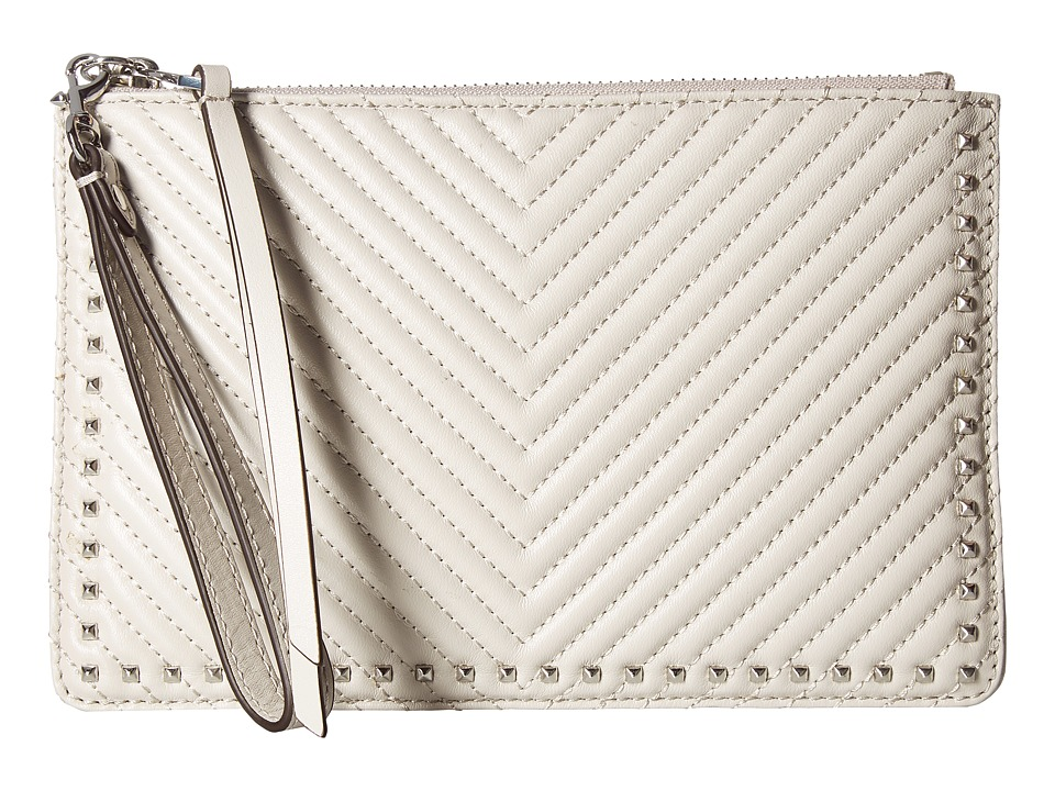 Rebecca Minkoff - Wristlet Pouch (Putty) Wallet Handbags